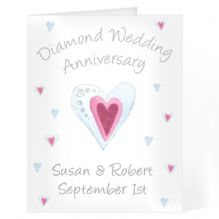Diamond Anniversary Card